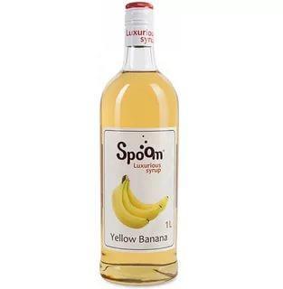 Сироп Spoom желтый банан