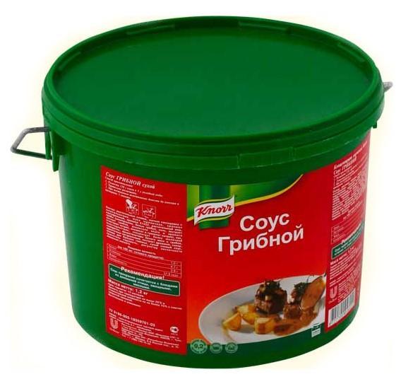 Соус Knorr грибной, Россия
