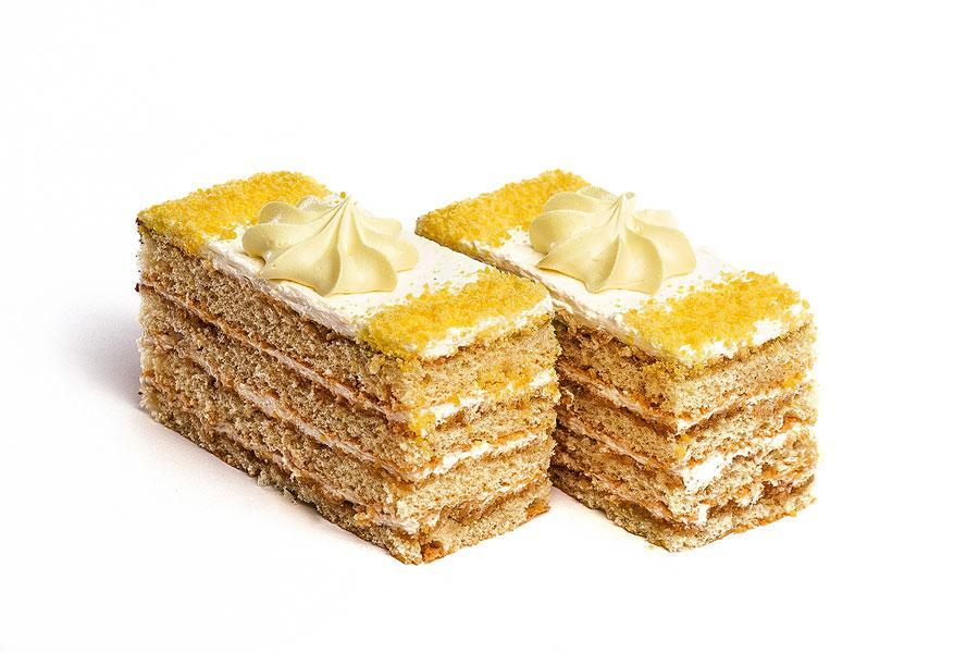 Пирожные Слоянка Удивительные в шоколаде с нежным кремом