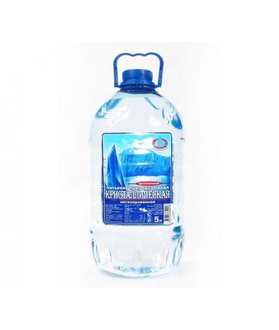 Вода Кристаллическая питьевая артезианская