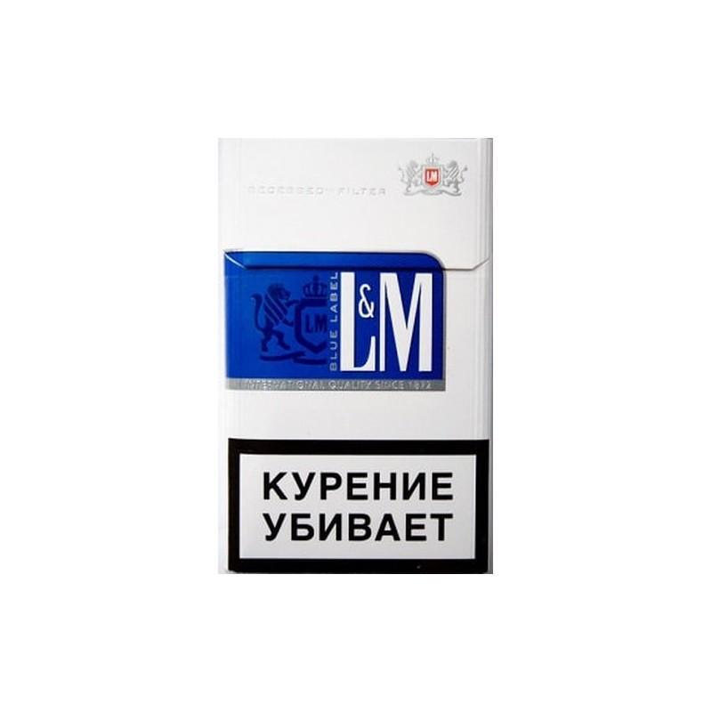 Сигареты L&M Blue label