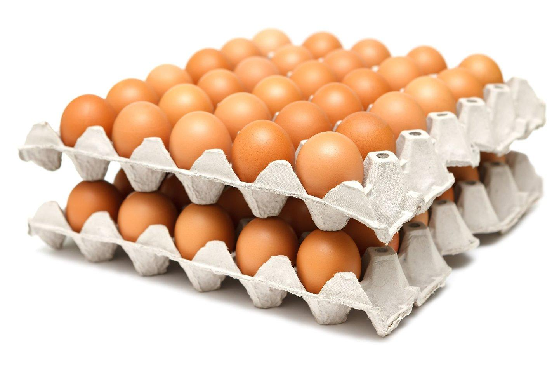 Яйцо столовое Со коричневое, Россия 360 шт