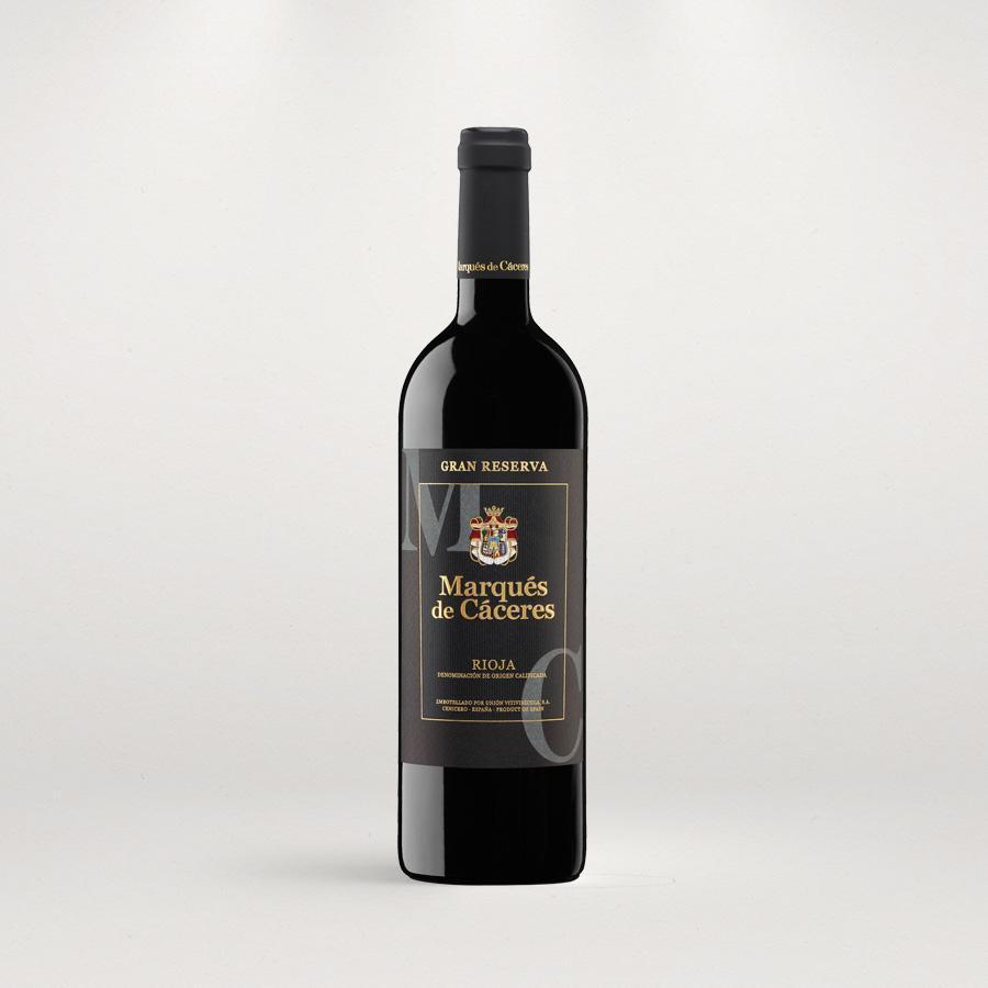 Вино Маркес де Касерес Гран Реcерва / Gran Reserva,  Темпранийо, Гренаш, Грасиано,  Красное Сухое, Испания