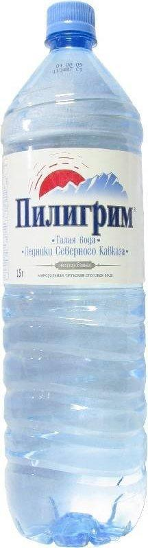 Вода питьевая негазированная Пилигрим талая ледниковая  1,5 л.