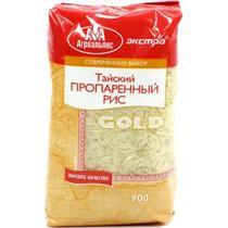 Крупа рисовая Агро Альянс Экстра Gold тайский пропаренный