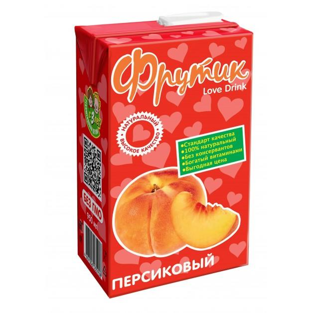 Напиток Фрутик сокосодержащий персиковый