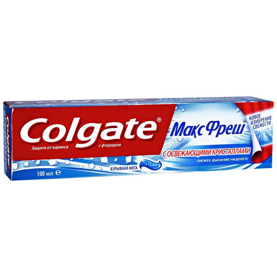 Зубная паста Colgate Max Fresh Взрывная Мята