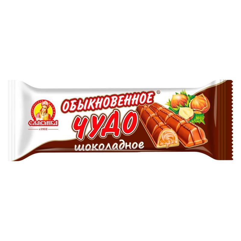 Батончик Славянка Обыкновенное Чудо шоколадное