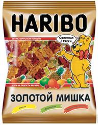 Мармелад жевательный Haribo Золотой мишка, пакет 140 гр. (40 шт. в упаковке)