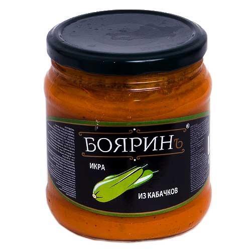 Икра Бояринъ Кабачковая