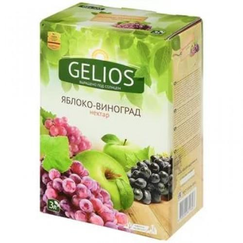 Нектар Gelios Яблоко-виноград