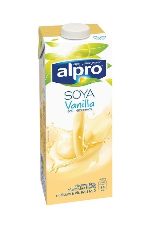 Напиток Alpro соевый с ароматом ванили 1л