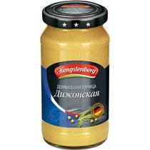 """ГОРЧИЦА """"ДИЖОНСКАЯ"""" HENGSTENBERG СТ/Б 200МЛ Г"""