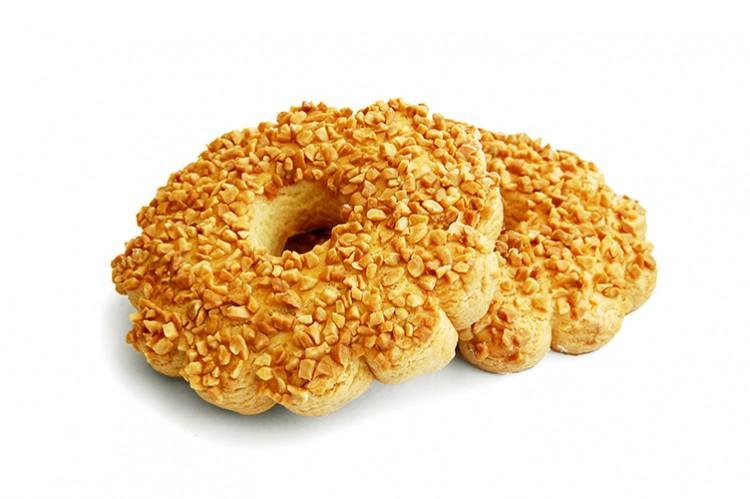 Печенье ТД Разевай-Ай си Кольцо с арахисом