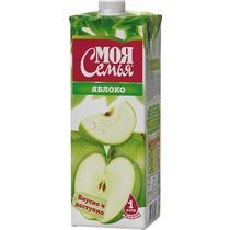Нектар Моя Семья яблочный 1 л.