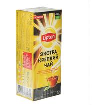 Чай Lipton Экстра Крепкий черный в пакетиках