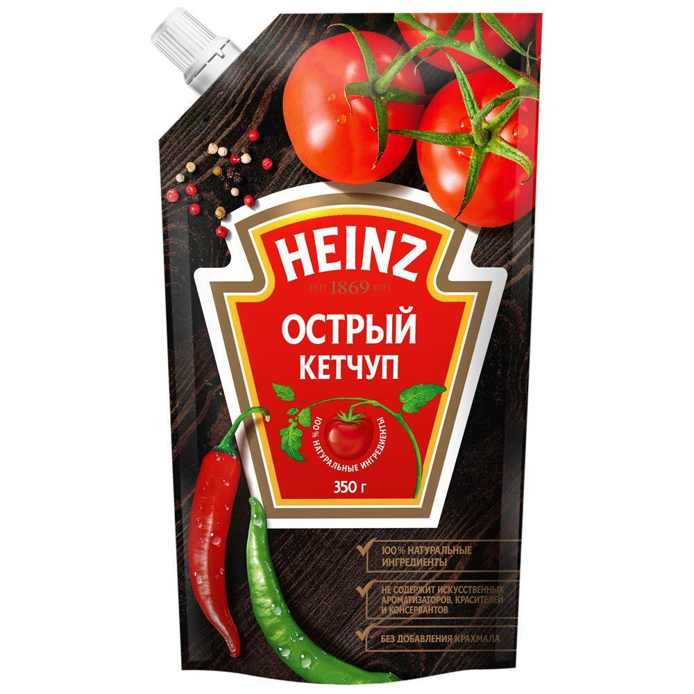 Кетчуп Heinz острый 350 гр