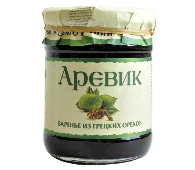 Варенье Аревик из грецких орехов