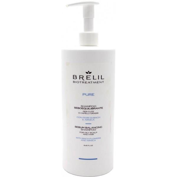 Шампунь Brelil для жирных волос BioTraitement Pure Sebum Balancing Shampoo