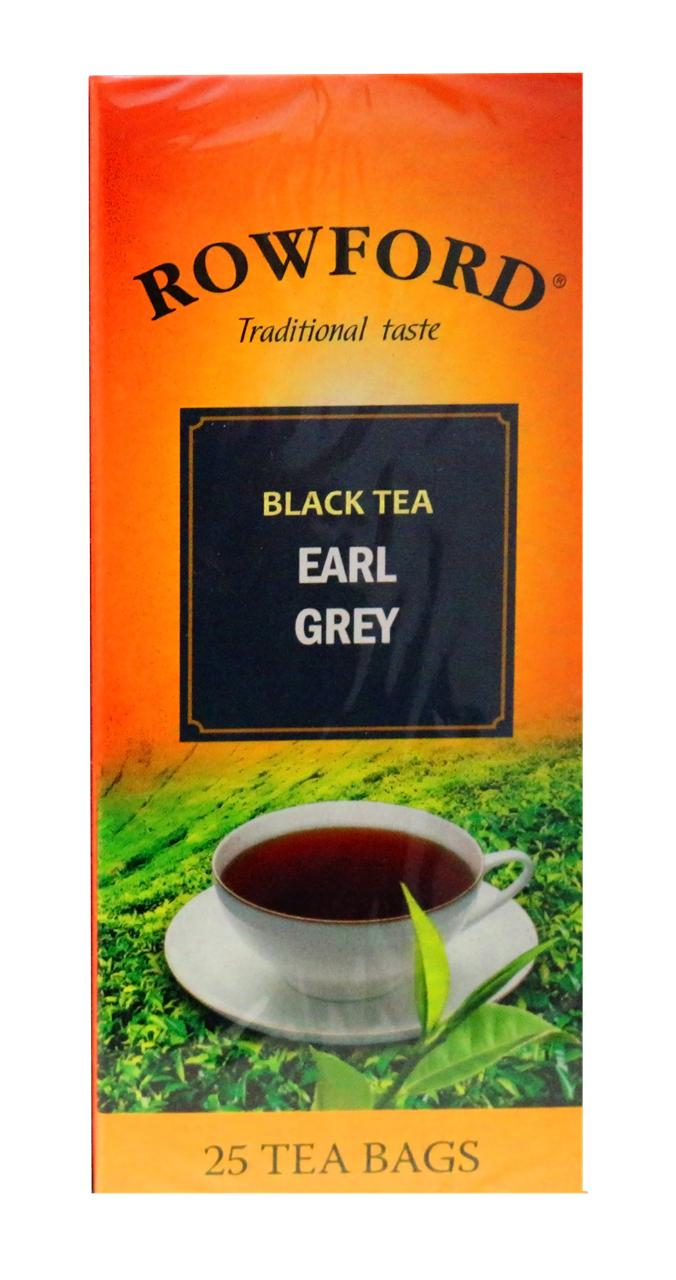 Чай Rowford Earl grey черный