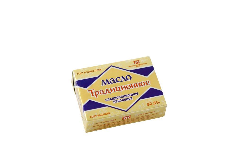 Масло Мытищинский Молочный Завод сливочное традиционное 82,5%