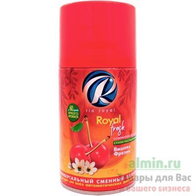 Освежитель автоматический Rio Royal Royal Fresh сменный баллон Вишня и Фрезия