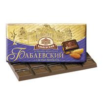 Шоколад Бабаевский темный с цельным миндалем 55%