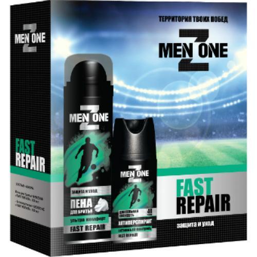 Набор MenZone Fast Repair пена для бритья + дезодорант-спрей подарочный