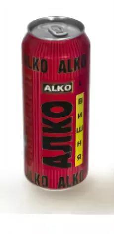 Пивной напиток Алко со вкусом вишни 6,9%
