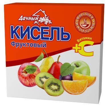 Кисель Дачный фруктовый