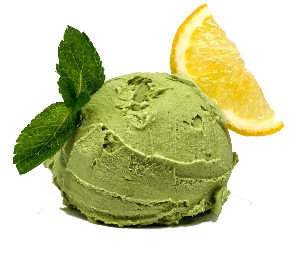 Мороженое Сливочное Зеленый чай с лимоном
