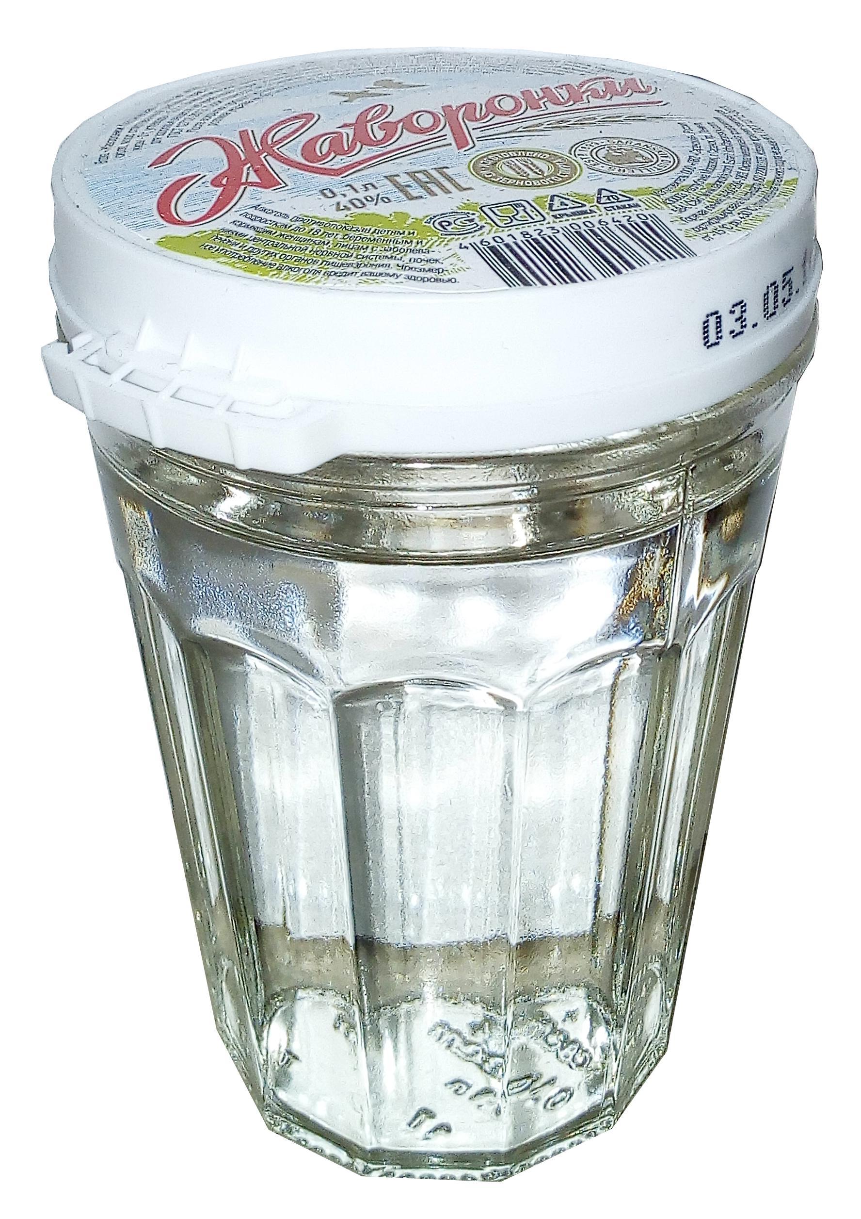Водка Жаворонки классическая 40%