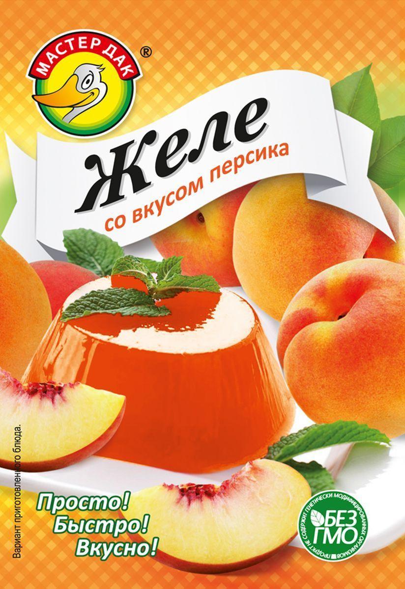 Желе Мастер Дак со вкусом персика
