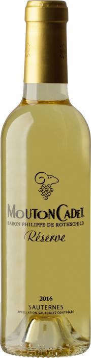 Вино Мутон Каде Резерв Сотерн / Mouton Cadet Reserve Sauternes,  Совиньон Блан, Семийон,  Белое Сладкое, Франция