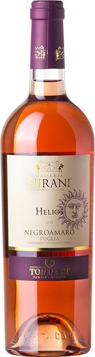 Вино Элиос Негроамаро / Helios Negroamaro,  Негроамаро,  Розовое Сухое, Италия