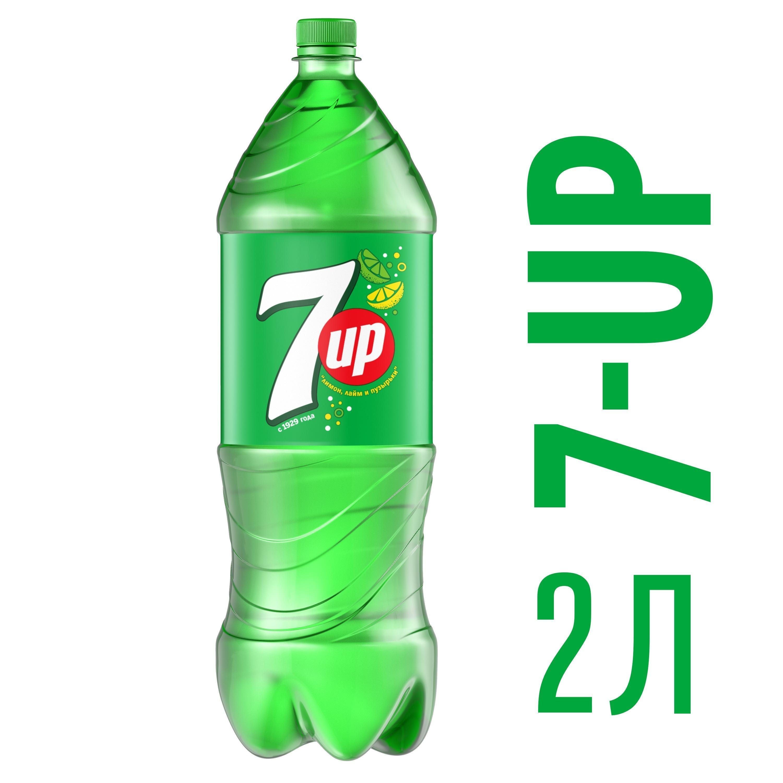 Газированный напиток 7 UP Лимон и лайм