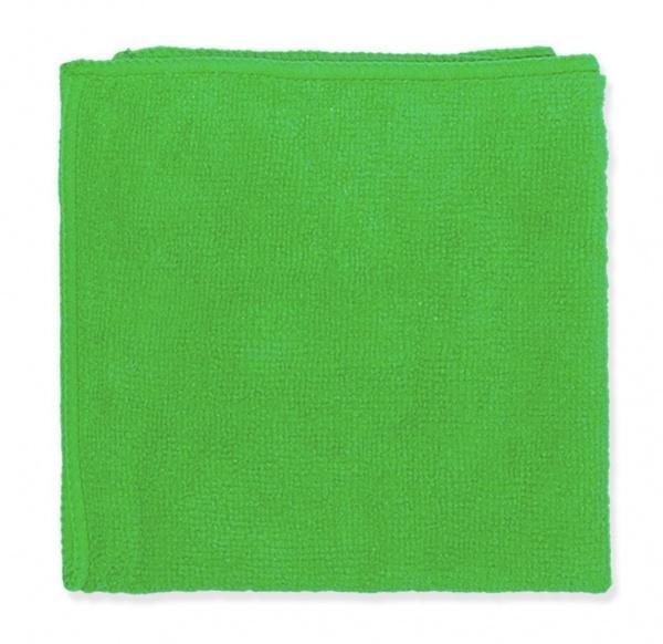 Салфетка из микрофибры замша зеленая 35*35см, 5шт
