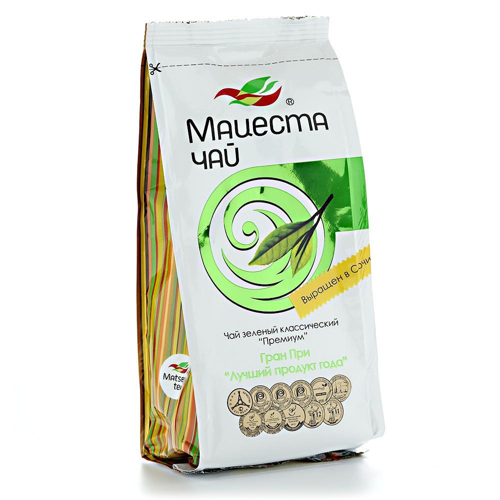 Чай зеленый Мацеста чай Премиум классический