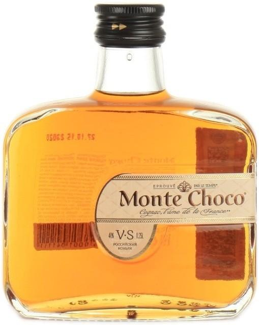 Коньяк Monte Choco трехлетний 39,7-40,3%
