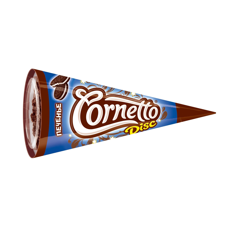 Мороженое Cornetto Disc печенье рожок 76 гр