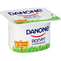 Йогурт ДАНОН 110гр ф-12 натуральный