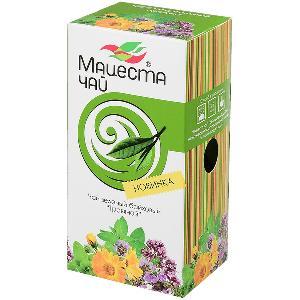 Чай Мацеста чай зелёный байховый травяной 20 пак