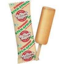 Мороженое пломбир Чистая Линия крем-брюле 70 г