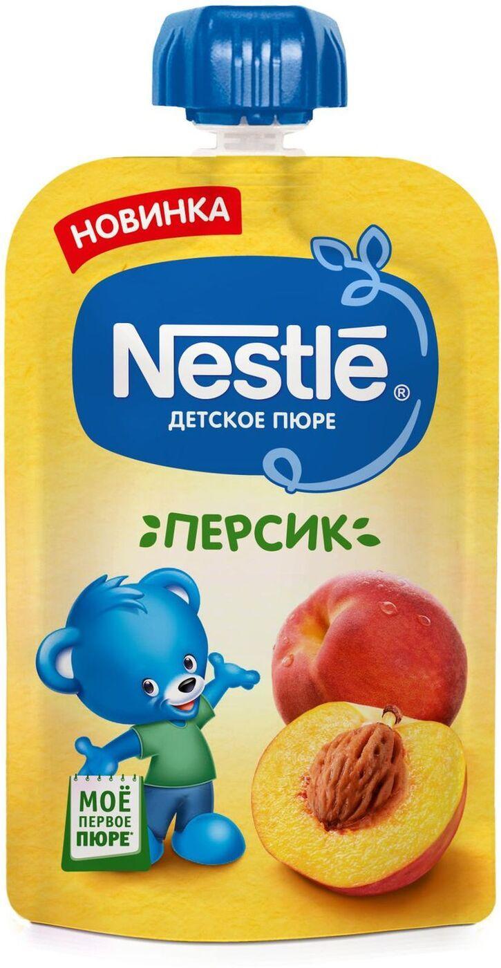 Пюре детское Nestle Персик с 4 мес.