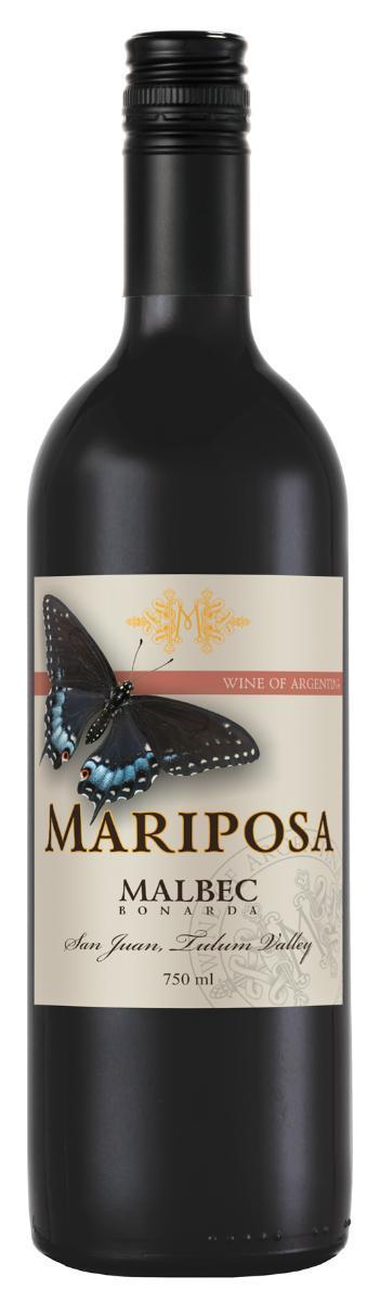 Вино Марипоса Мальбек-Бонарда, Аргентина
