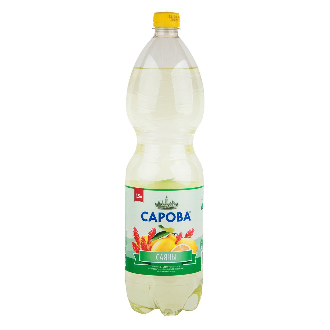 Газированный напиток Сарова Саяны
