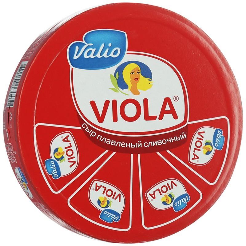 Сыр плавленый Viola Сливочный 50%