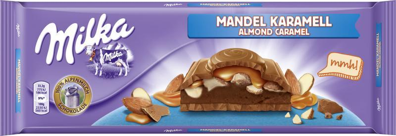 Шоколад Milka Almond Caramel