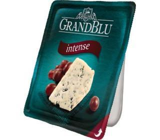 Сыр GRANDBLU Intense с голубой плесенью 140гр