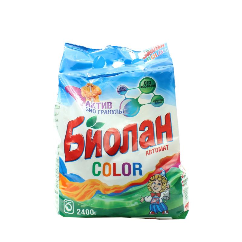 Стиральный порошок Биолан Color автомат для цветного белья